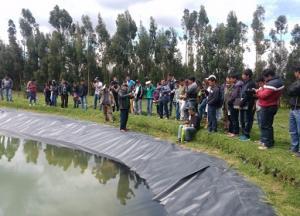 Productores se capacitan en uso de nuevas tecnologías de riego