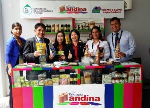 """Productos innovadores de """"La Tiendecita Andina"""" buscan ingresar a los 21 países del APEC"""