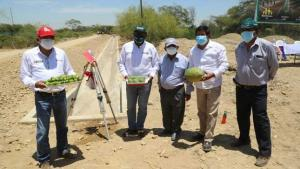 Rehabilitan canal de riego en San Lorenzo que beneficiará a productores de mango, limón y plátanos