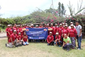 San Fernando acerca a agricultores de duraznos de Caral con industria de néctares