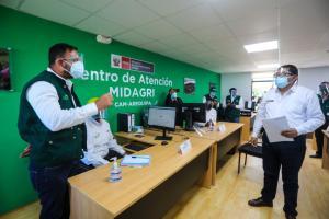 Se pone en marcha en Arequipa segundo Centro de Atención al pequeño productor