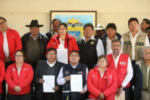 Tacna: Ejecutivo oficializa creación y conformación de Mesa de Diálogo de Candarave para abordar problemática hídrica
