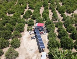 Tumbes implementa sistema de riego con paneles solares