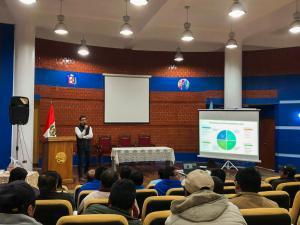 Unidad de Negocios de Agroideas ha realizado talleres de difusión en diez regiones a la fecha