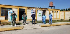 Virú realiza campañas de fumigación y desinfección en seis regiones del país para combatir el Covid-19