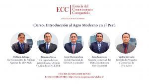 William Arteaga asesora a agroexportadores y empresarios en el Primer Curso de Agro Moderno de ECC