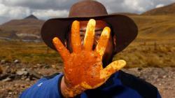 10 mil ganaderos son afectados por contaminación minera