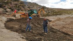 12 cochas aportarán 149.000 m3 de agua en beneficio de pequeños productores de Moquegua