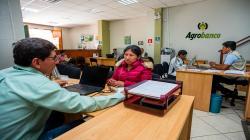 Agrobanco reprograma deudas de pequeños productores agropecuarios sin intereses