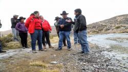 Anuncian estudios técnicos para determinar causas de déficit de agua en Candarave