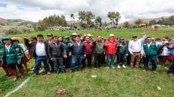 Aprobaron programa de fortalecimiento de las Juntas de Usuarios