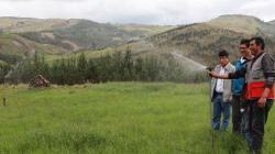 Autoridades suizas interesadas en labor de Haku Wiñay y gestión territorial del agua