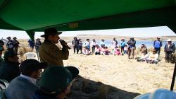 Ayacucho: obras de siembra y cosecha de agua por un valor de más de S/ 5 millones se entregarán en septiembre