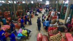 Ayer ingresaron 7.799 toneladas de alimentos en mercados mayoristas de Lima