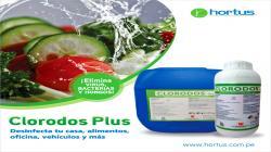 Clorodos Plus, desinfecta los alimentos y evita los riesgos por contaminación