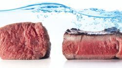 El 70% de la huella hídrica a nivel mundial está relacionada con los alimentos