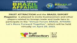 Fruit Attraction impulsa el foro que analiza las relaciones comerciales hispano-brasileñas