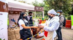 """Impulsan campaña """"Amantes de Nuestro Café"""" en ecoferias y mercados itinerantes"""