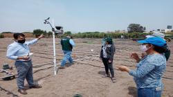 INIA instala estaciones meteorológicas para mejorar calidad de cultivos y crianza de animales