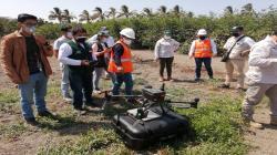 INIA monitoreará hectáreas de Lambayeque, Huancavelica, Ucayali y San Martín con equipos de drones de teledetección