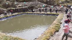 Junín: Agro Rural entrega sistema de riego parcelario en Palca