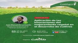 La edición genómica en el mejoramiento de los cultivos será tratada en webinar organizado por CultiVida
