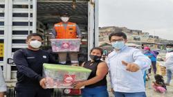 La Libertad: Hortifrut contribuye con canastas de víveres para cerca de 2.500 familias de comunidades de Chao