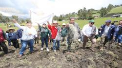 Meta del gobierno es sembrar 150 mil hectáreas en la campaña 2019/2020