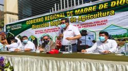 Midagri anuncia inyección de S/ 60 millones en créditos a productores de Madre de Dios