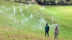 Minagri instalará sistema de riego tecnificado en Ayacucho, Cajamarca y Arequipa