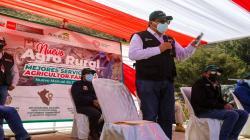 Ministro Federico Tenorio lanza Agro Rural para mejorar los servicios a la Agricultura Familiar