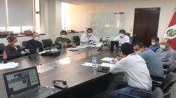 Ministro Lozada se reunió con gremios de transportistas que brindan servicios en costa, sierra y selva