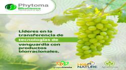 Phytoma Bioscience cuenta con el portafolio de Tecnologías de Vanguardia dentro de la estrategia de Bioestimulación y Protección de cultivos en el segmento orgánico – Residuo cero