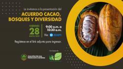 Presentarán Acuerdo Cacao, Bosques y Diversidad