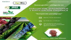 Realizarán Seminario Internacional: Nueva gestión inteligente en evaluación, diagnóstico y fertilización orgánica 2019