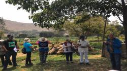 Reconocido agroecólogo Miguel Altieri visitó a productores del Valle del Chillón