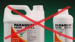 Senasa prohíbe importación y registro de Paraquat desde hoy