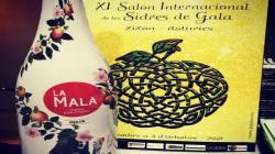 Sidra elaborada con manzanas de Mala fue galardonada en Salón Internacional de España