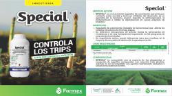Special, nuevo insecticida para el control de plagas