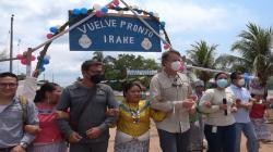Ucayali: Palmicultora Ocho Sur fue distinguida por la comunidad nativa Shambo Porvenir