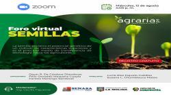 UNALM, Senasa y Agraria.pe realizarán Foro Virtual de Semillas