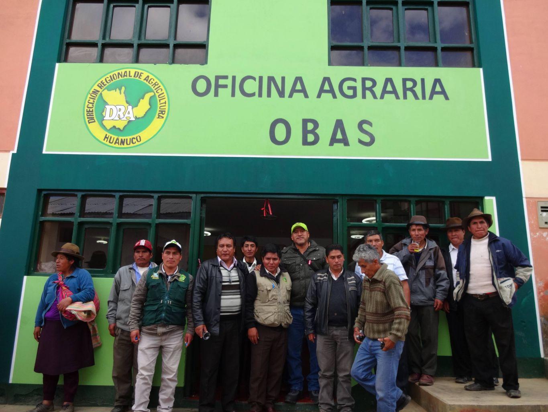 INAUGURAN OFICINA AGRARIA EN YAROWILCA