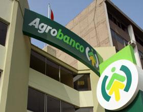 SALDO DE COLOCACIONES DE AGROBANCO ALCANZÓ LOS S/. 1.878 MILLONES