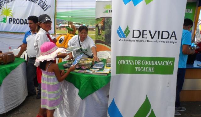 GORESAM ORGANIZÓ FERIA AGRARIA EN TOCACHE