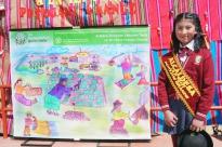 NIÑA PERUANA GANA CONCURSO REGIONAL DE DIBUJO SOBRE AGRICULTURA FAMILIAR