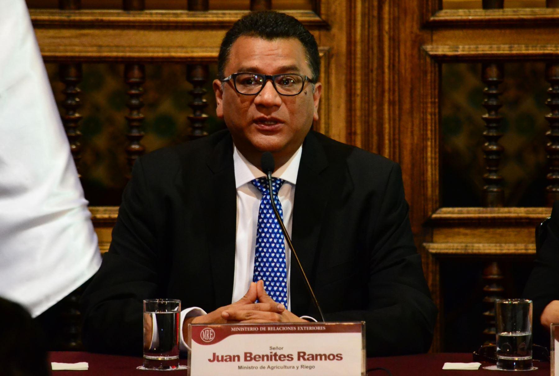 MINAGRI PRESENTÓ ACCIONES DEL GOBIERNO PARA ENFRENTAR EL NIÑO