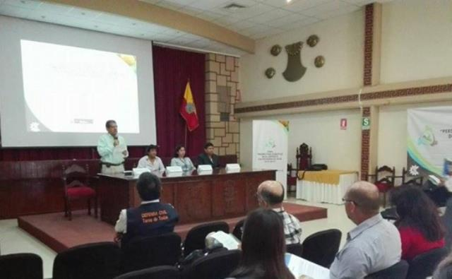 SENAMHI Y GORE LAMBAYEQUE REALIZARON FORO CLIMÁTICO EN CHICLAYO