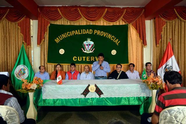CAJAMARCA: CUTERVO SE PREPARA PARA AFRONTAR FENÓMENO EL NIÑO
