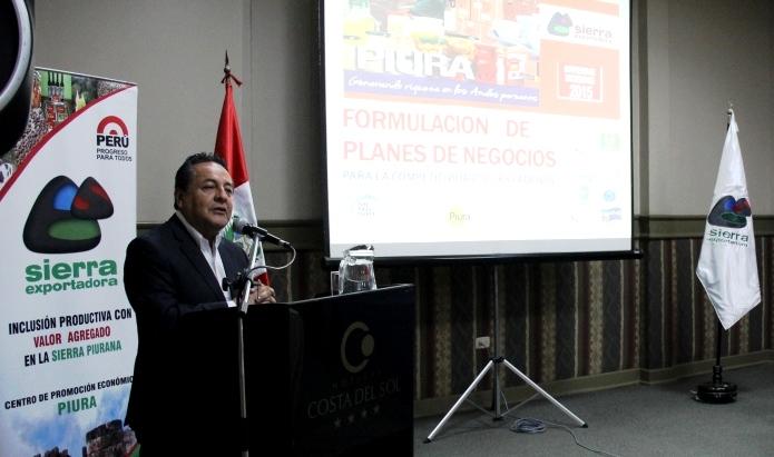 PROGRAMAS DE INNOVACIÓN DESARROLLARÁN POTENCIAL DE LA SIERRA PIURANA