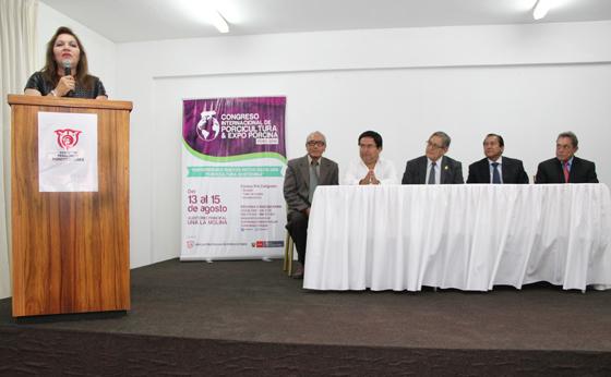 PERÚ SERÁ SEDE DEL V CONGRESO IBEROAMERICANO DE PORCICULTURA